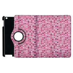 Abstract Pink Squares Apple Ipad 2 Flip 360 Case by BangZart
