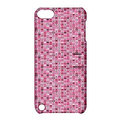 Abstract Pink Squares Apple Ipod Touch 5 Hardshell Case With Stand by BangZart