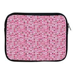 Abstract Pink Squares Apple Ipad 2/3/4 Zipper Cases by BangZart