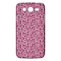 Abstract Pink Squares Samsung Galaxy Mega 5 8 I9152 Hardshell Case  by BangZart