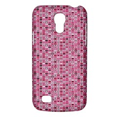 Abstract Pink Squares Galaxy S4 Mini