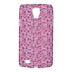 Abstract Pink Squares Galaxy S4 Active by BangZart