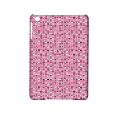 Abstract Pink Squares Ipad Mini 2 Hardshell Cases by BangZart