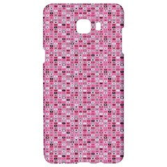 Abstract Pink Squares Samsung C9 Pro Hardshell Case  by BangZart