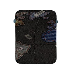 World Map Apple Ipad 2/3/4 Protective Soft Cases by BangZart