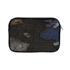 World Map Apple Ipad Mini Zipper Cases