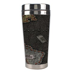 World Map Stainless Steel Travel Tumblers by BangZart