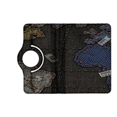 World Map Kindle Fire Hd (2013) Flip 360 Case by BangZart