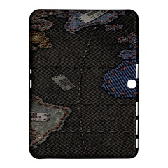 World Map Samsung Galaxy Tab 4 (10 1 ) Hardshell Case