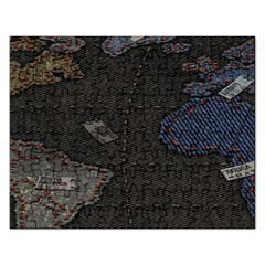 World Map Rectangular Jigsaw Puzzl