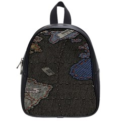 World Map School Bags (small)  by BangZart