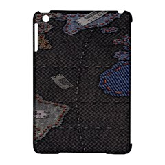 World Map Apple Ipad Mini Hardshell Case (compatible With Smart Cover) by BangZart