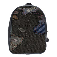 World Map School Bags (xl)  by BangZart