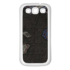 World Map Samsung Galaxy S3 Back Case (white)