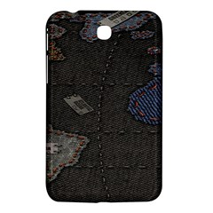 World Map Samsung Galaxy Tab 3 (7 ) P3200 Hardshell Case