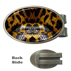 Textures Snake Skin Patterns Money Clips (oval)  by BangZart