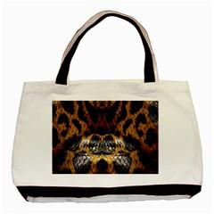 Textures Snake Skin Patterns Basic Tote Bag