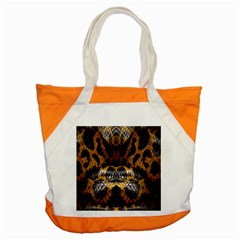 Textures Snake Skin Patterns Accent Tote Bag by BangZart