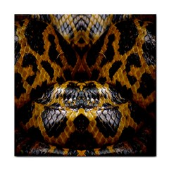 Textures Snake Skin Patterns Face Towel