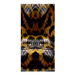 Textures Snake Skin Patterns Shower Curtain 36  X 72  (stall)