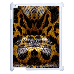 Textures Snake Skin Patterns Apple Ipad 2 Case (white) by BangZart