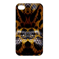 Textures Snake Skin Patterns Apple Iphone 4/4s Hardshell Case by BangZart