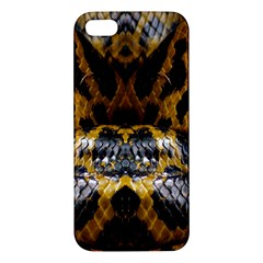 Textures Snake Skin Patterns Iphone 5s/ Se Premium Hardshell Case by BangZart