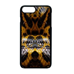Textures Snake Skin Patterns Apple Iphone 7 Plus Seamless Case (black) by BangZart