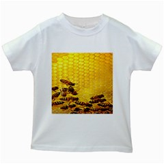 Sweden Honey Kids White T Shirts
