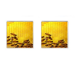 Sweden Honey Cufflinks (square)