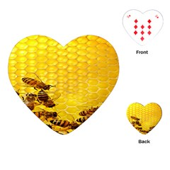 Sweden Honey Playing Cards (heart)  by BangZart