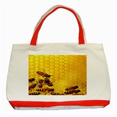 Sweden Honey Classic Tote Bag (red)