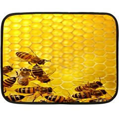 Sweden Honey Fleece Blanket (mini) by BangZart