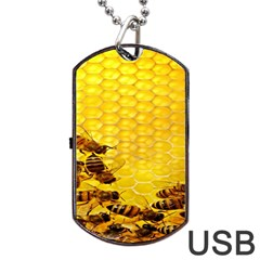 Sweden Honey Dog Tag Usb Flash (one Side)