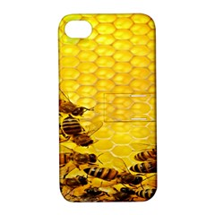 Sweden Honey Apple Iphone 4/4s Hardshell Case With Stand