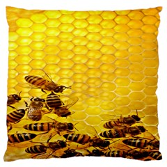 Sweden Honey Large Flano Cushion Case (one Side) by BangZart