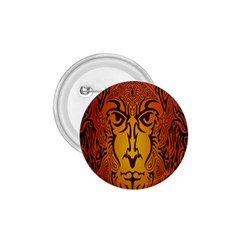 Lion Man Tribal 1 75  Buttons by BangZart