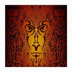Lion Man Tribal Medium Glasses Cloth