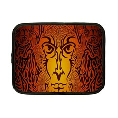 Lion Man Tribal Netbook Case (small)  by BangZart