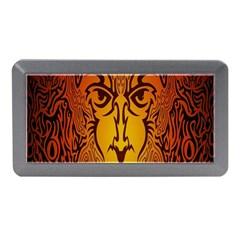 Lion Man Tribal Memory Card Reader (mini) by BangZart