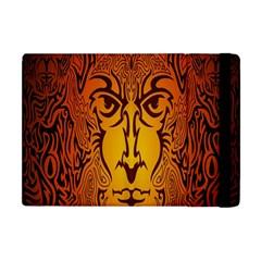 Lion Man Tribal Apple Ipad Mini Flip Case by BangZart