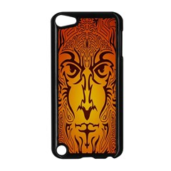 Lion Man Tribal Apple Ipod Touch 5 Case (black) by BangZart