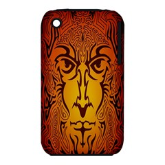 Lion Man Tribal Iphone 3s/3gs by BangZart