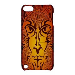 Lion Man Tribal Apple Ipod Touch 5 Hardshell Case With Stand