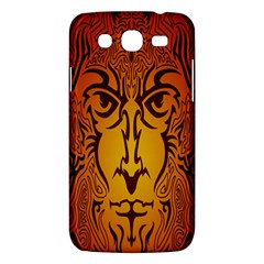 Lion Man Tribal Samsung Galaxy Mega 5 8 I9152 Hardshell Case  by BangZart