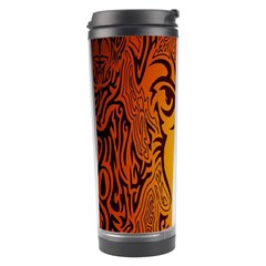 Lion Man Tribal Travel Tumbler