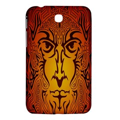 Lion Man Tribal Samsung Galaxy Tab 3 (7 ) P3200 Hardshell Case  by BangZart
