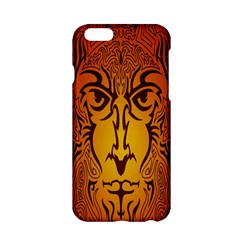 Lion Man Tribal Apple Iphone 6/6s Hardshell Case by BangZart