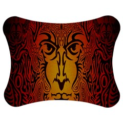 Lion Man Tribal Jigsaw Puzzle Photo Stand (bow)