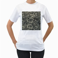 Us Army Digital Camouflage Pattern Women s T Shirt (white) (two Sided)